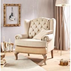 Barokk stílusú fotel