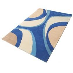 Minar Handtufted - Kék szőnyeg 140x200