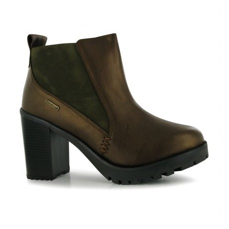 Félcipő Firetrap Blackseal Queenie Heeled női