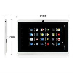 7'' Quad Core Táblagép (Q88H) Android 4.2.2-es operációs rendszerrel
