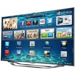 """Samsung UE55ES8000 55"""" - 138cm Full HD SMART 3D LED TV -sérült keret, pixelcsíkos-"""