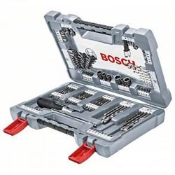Bosch 105 részes Premium X-Line fúró és csavarozó készlet