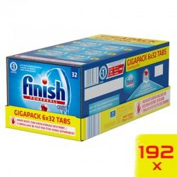 Finish Classic GigaPack mosogatógép tabletta csomag, 192 db