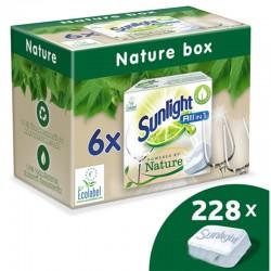 Sunlight Nature gépi mosogatógép tabletta, 6x38db