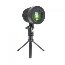LEDTech Kültéri lézeres projektor, zöld-piros, fekete színű