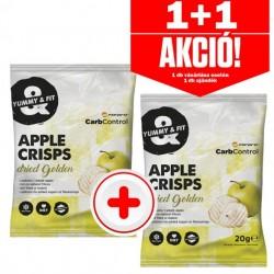 Forpro Apple Crisps almaszirom 12x20g - Golden - 1+1 akció