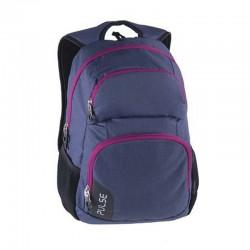 Pulse Element 2in1 hátizsák notebook tartóval, sötétkék/lila
