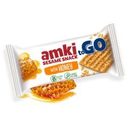 Amki MÉZES szezámszelet 22,5 g gluténmentes (16 db)
