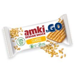 Amki MÉZES szezámszelet KÖLESSEL 33 g gluténmentes (16 db)