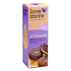 LoveMore O'CHOCO pilóta keksz 150g (8db oreo) (glutén és tejmentes) (8 db)