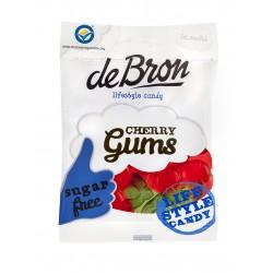 """DeBron glutén- és cukormentes """"CHERRY""""cseresznyés gumicukor 90g (12 db)"""