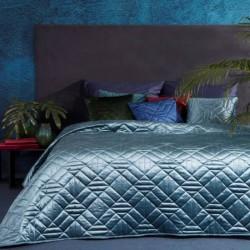 Altai bársony ágytakaró Kék 220 x 240 cm - 350269