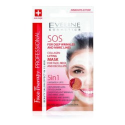 EVELINE Face Therapy SOS Arcmaszk kollagén tartalmú 7ml